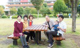 横浜に出張撮影したお誕生日記念のファミリーフォト
