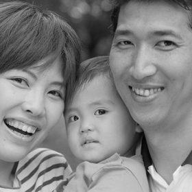 横浜市都筑区の公園に出張撮影した家族写真