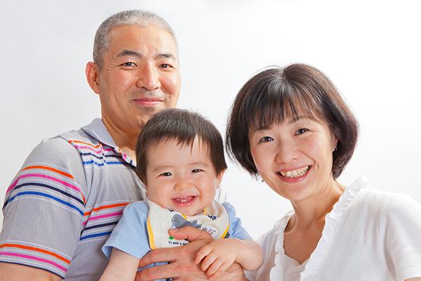 川崎市麻生区に出張撮影した家族写真
