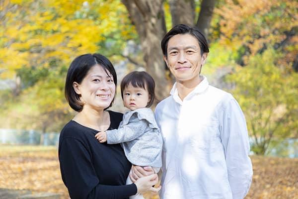 横浜市の公園に出張撮影した家族写真