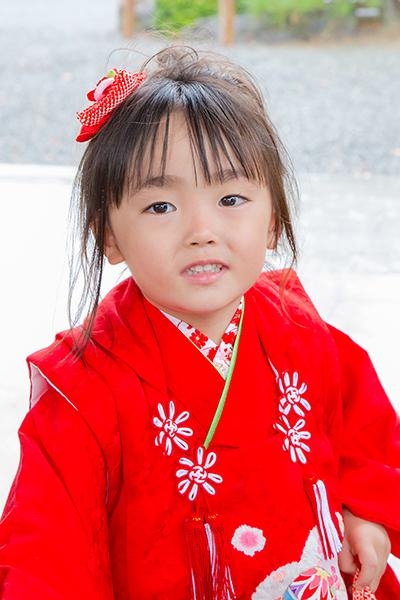 神奈川県藤沢市の白幡神社に出張撮影したし七五三写真
