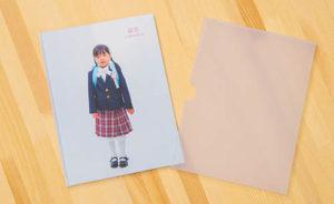 入学記念写真で作ったフォトブック