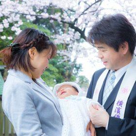 横浜の伊勢山皇大神宮に出張撮影したお宮参り写真