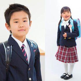 横浜に出張撮影した入学記念写真