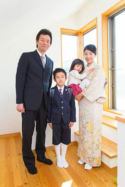 横浜のご自宅に出張撮影した家族写真